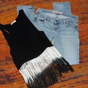 Outfit Tank & Jeans